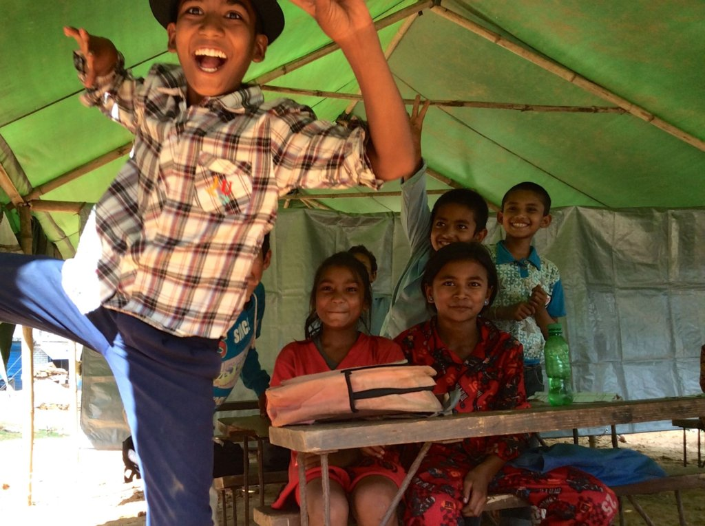 Give the Gift of Education in Nepal