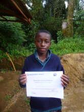 Youngest certified mushroom farmer