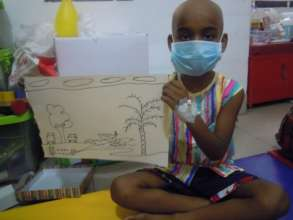 Play therapy at BSMMU Hospital in Dhaka