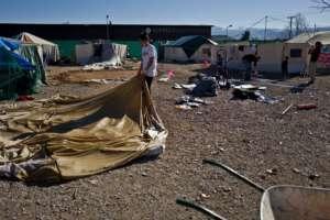 Oinofyta Refugee Camp