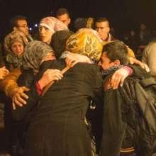 Refugees in Lesvos, Greece