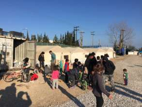 Share Hope with Refugees at Camp Oinofyta Greece