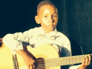 child from GITC at the Pullum Center in L.A.