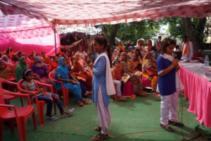 Girl Icon Komal conducted a community meeting