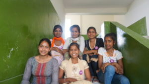 Suman with other Girl Leaders at the training
