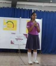 Girl Icon Shaistha conducted SAP in school