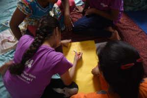 A group activity on Leadership