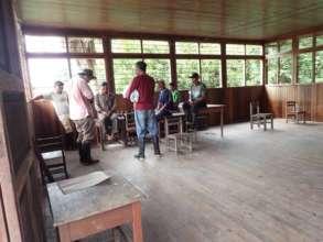 Meeting at Nueva Saposoa