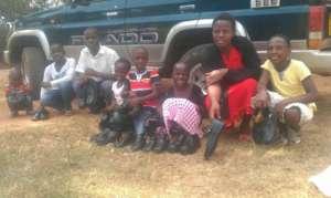 Children got new shoes last year