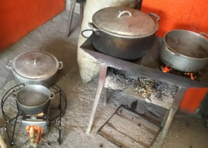 High-efficiency cookstove prototypes