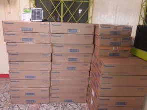 Donated Panasonic Lanterns