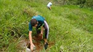Luiz: driver, good friend and tree planter
