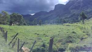 Rain clouds on the dry season