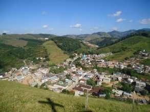 View of Rosario da Limeira - 7 reforestation plots