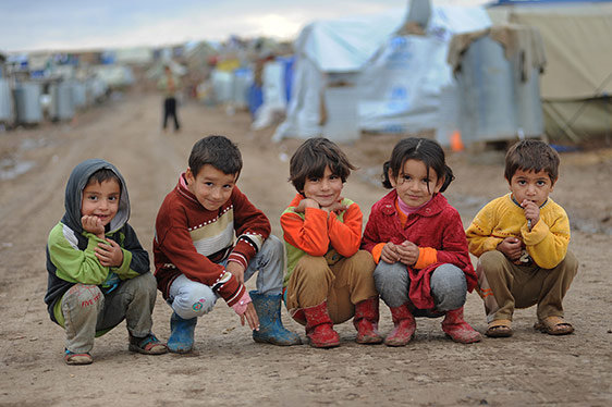 Rise Now for the Syrian Refugee Children