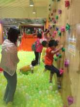 Fun afternoon at an indoor playground