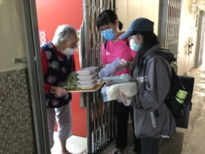Outreach service to deliver masks and food