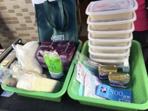 Food pack for our members