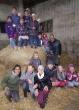 Farm visit in Zerbst