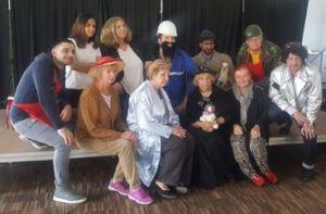The theater crew
