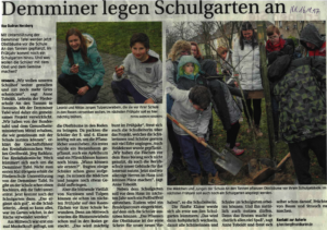 Nordkurier newspaper article (German)