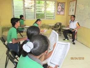Senior high students at EBPP Pengalusan school
