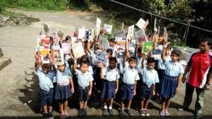 EBPP Pengalusan hamlet elementary students