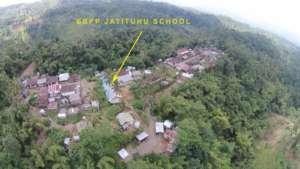 Aerial view of Jatituhu School