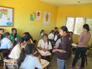 EBPP High School children have nutrition class