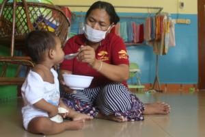 Providing nutrition for vulneable babies