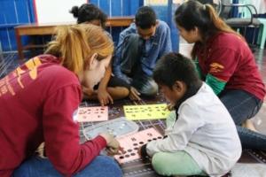 Special Needs classroom at M'Lop Tapang