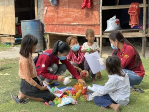 Bringing books and toys to children at home