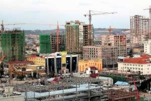development in the city