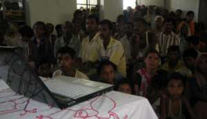 Consultaion with the Villagers