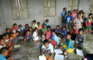 The situation of classroom in government schools