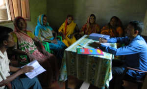 The team in Nepal- Partner Organisation