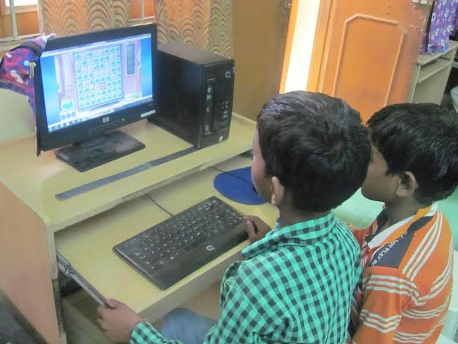 Digital literacy to empower urban slum children