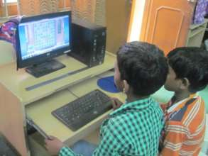Computer literacy for Out of school children