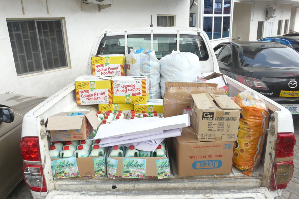 A MEAL-A-DAY FOR 200 NIGERIAN IDPs