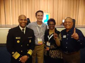 CADCA Chairman & the U.S. Surgeon General.