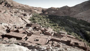 Beneficiary village in Ouarzazate
