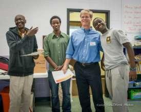 After-school volunteer appreciation event