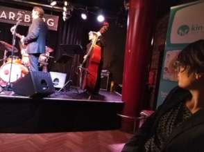 Charity event for kinderhaende at the Jazzland