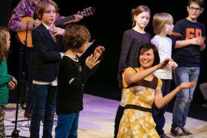 kinderhande concert at the TAG