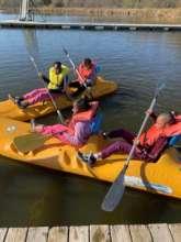 Camp fun on the water