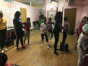 rehearsal for the show
