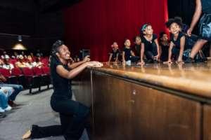 Engaged teaching artist