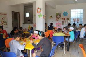 Centre Pinocchio's canteen