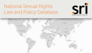 National Sexual Rights Law and Policy Database