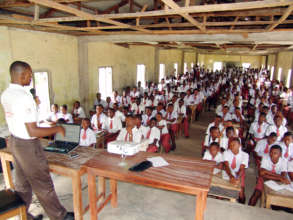 High school students receive malaria education